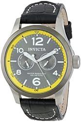 Invicta Men's 14141 I-Force Analog Display Swiss Quartz Black Watch