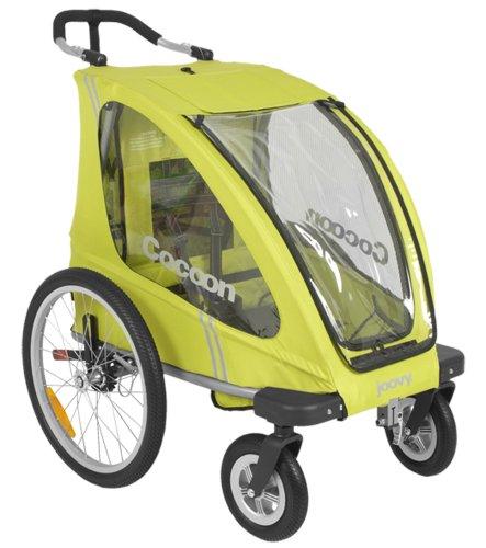 Joovy Cocoon Enclosed Single Stroller, Greenie
