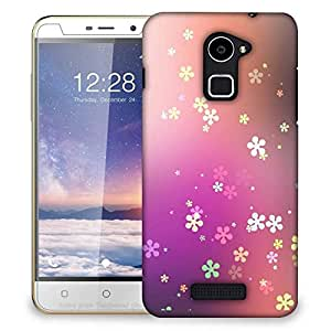 Snoogg Flower graphic Designer Protective Back Case Cover For Coolpad Note 3 Lite