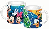 Disney Mickey Mouse Donald Duck Goofy Pluto Fl Map 14oz. Mug