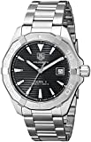 TAG Heuer Men's WAY2110.BA0910 300 Aquaracer Analog Display Swiss Automatic Silver Watch