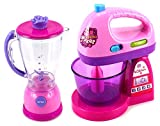Happy Kitchen Blender Mixer Pretend Play Battery Operated Toy Home Appliances Play Set