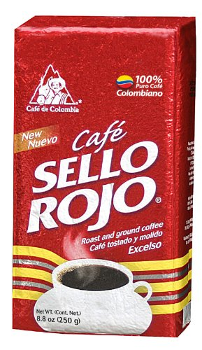 Sello Rojo Roast & Ground Coffee, 8.8-ounce Brick
