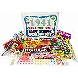 1941 75th Birthday Gift Basket Box Retro Nostalgic Candy