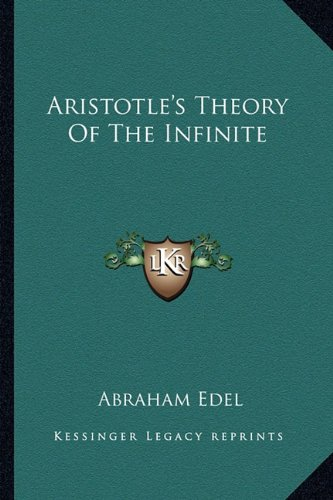 Aristotle's Theory of the Infinite