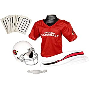 Franklin Sports NFL Arizona Cardinals Deluxe Youth Uniform Set, Medium