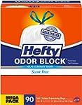 Hefty Odor Block Tall Kitchen Trash B...