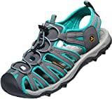 AT-W109-DG_260 Women 9 B(M) Atika Women's Athena Outdoor Sandals W109