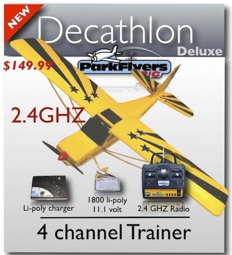 Decathlon RTF RC Plane w/ 2.4Ghz Radio & Rx, Brand New!!