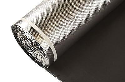 IncStores Black EVA Foam Underlayment - Ideal for Floating Wood & Laminate Flooring
