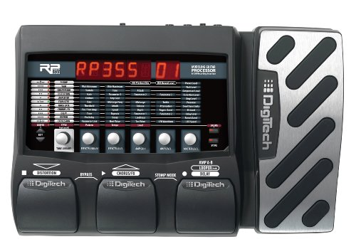 Digitech RP355 Modeling Guitar Processor