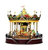 Lemax Sunshine Carousel Village House