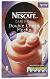Nescafe Cafe Menu Double Choca Mocha 8 Sachets, one Box
