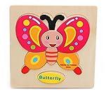 Vale® madera Bloques Animales Kid juguetes educativos Niños Baby Puzzle de dibujos animados