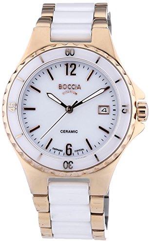 Boccia Women's Quartz Watch 3215-03 3215-03 with Metal Strap