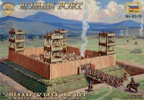 Buy Low Price Zvezda Roman Fort 1-72 Zvezda Figure (B000J41AKQ)