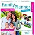 Quo Vadis - Family planner Calendrier Mensuel Scolaire 16 mois - Septembre � D�cembre - Ann�e 2014 -2015