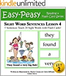 Sight Word Sentences Set 2 - Lesson 4...