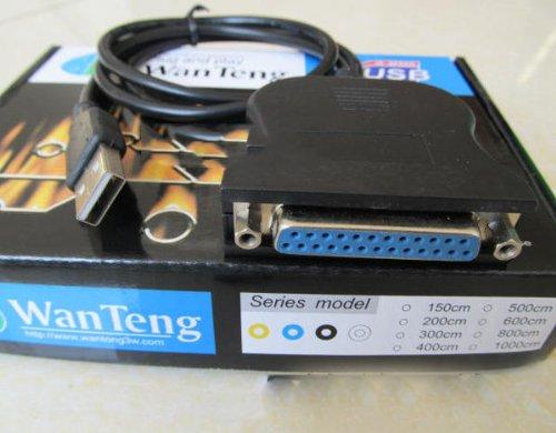 IEEE1284 Kompatibilit?t Druckerkabel Drucker-Port 25 L?cher USB, Parallel-Port
