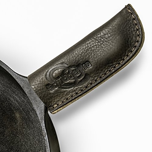 ScrubberPro 5x2-Inch Leather Cast Iron Hot Handle cover (Cast Iron Cover compare prices)