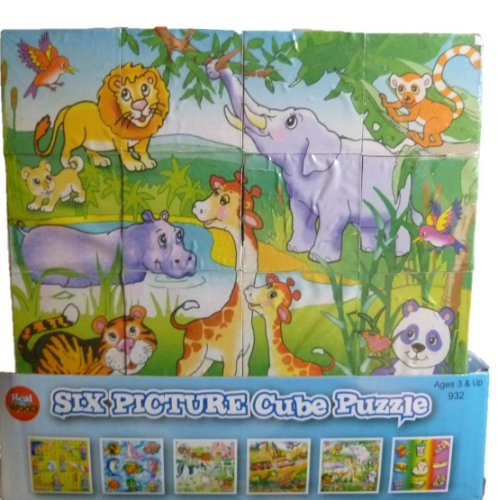 Six Picture Cube Puzzle by Forever Toys