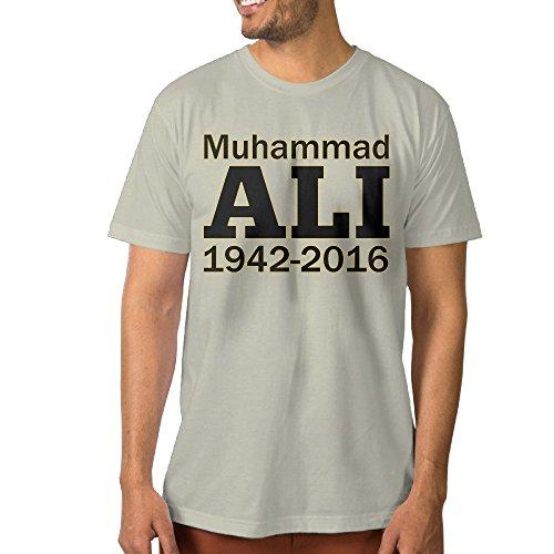 Funny Men's T Shirt Muhammali 1942 2016 Image S Natural