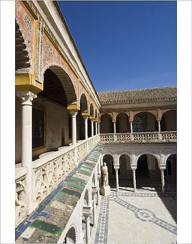 Photographic Print Of View Of The Patio Principal In Casa De Pilatos
