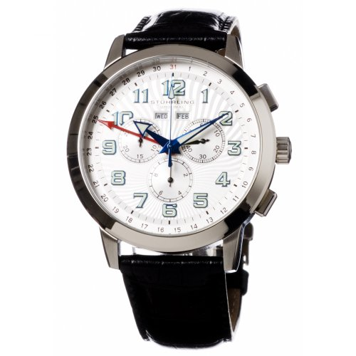 Stuhrling Original Men's 'Navigator' Swiss Quartz Chronograph Watch #132.33152 - Buy Stuhrling Original Men's 'Navigator' Swiss Quartz Chronograph Watch #132.33152 - Purchase Stuhrling Original Men's 'Navigator' Swiss Quartz Chronograph Watch #132.33152 (Stuhrling, Jewelry, Categories, Watches, Men's Watches, By Movement, Swiss Quartz)