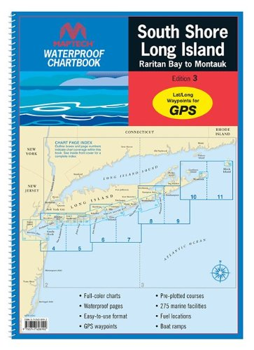 Maptech Waterproof Chart Kit - South Shore Long Island