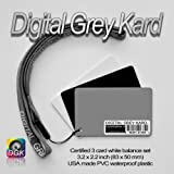 Digital Grey Kard DGK-1 White Balance Card / Gray Card for Digital Photographyby Digital Image Flow