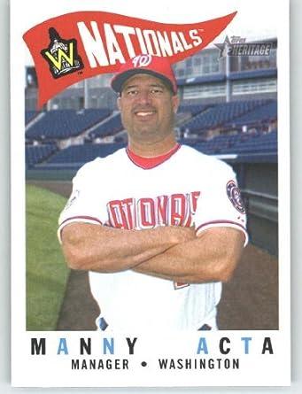 Card IN SCREWDOWN CASE #212 Manny Acta Mint: Collectibles & Fine Art