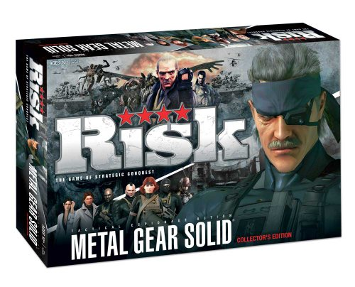 Imagen de Metal Gear riesgo del juego de mesa: Riesgo de Metal Gear