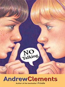"Cover of ""No Talking (Thorndike Press Lar..."