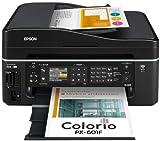 エプソン カラリオ 無線・有線LAN標準対応 FAX搭載複合機 4色顔料インク PX-601F