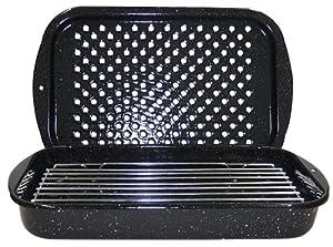 Granite Ware 3-Piece Bake, Broil, and Grill Pan Set