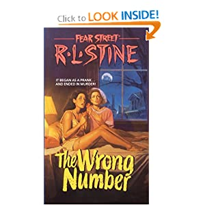 The Wrong Number (Fear Street, No. 5) by R. L. Stine