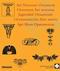 Ornement, art nouveau (+ CD-Rom)