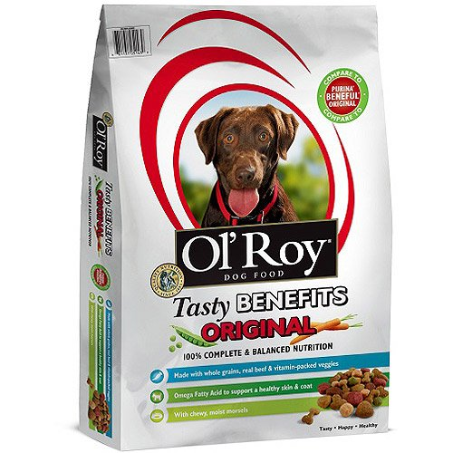 Pet Tasty Benefit Dog Food, Wholesome Ingredients, Nutrition, Healthy Grains