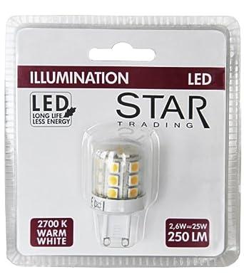 Best Season 344 01 Decoline Illumination Lampada Led A Globo Con Attacco G9 2700 K 75 Ra 250 Lm Dimensioni Where To Buy Mnudgr