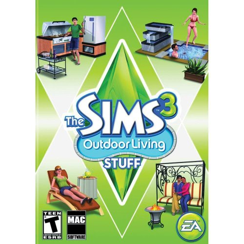 The Sims 3: Outdoor Living Stuff – Expansion [Mac Download]