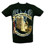 Souvenirs of France - Notre-Dame de Paris T-Shirt - Color : Black