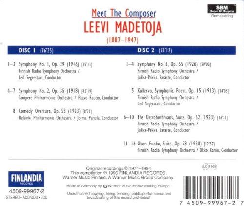 Leevi Madetoja (1887-1947) 51buq5yn1rL