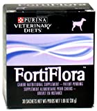 3 Pack FortiFlora CANINE Nutritional Supplement by Purina Box of 30 (1 gram packets)