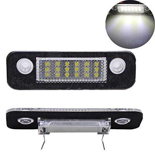 2pcs-ford-fiesta-mk5-5-fusion-mondeo-mk2-2-led-license-number-plate-licht-lampe-kennzeichenleuchte-s