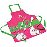 Curious Chef 11- Piece Pink Chef's Kit