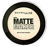 Maybelline New York Matte Maker Puder Nude Beige 20, 1 x 16...