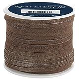 Chocolate Suede Craft Lacing - 25 Yard Spool