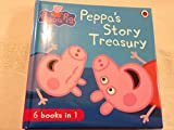 PEPPA'S STORY TREASURY 6 Books in 1 (NEW, 2014) Peppa Pig Storybook includes 6 stories:: 1) Fun at The Fair 2) Peppa's First Sleepover 3) Peppa Pig's Family Computer 4) Dentist Trip 5) Nature Trail 6) George's First Day at Playgroup