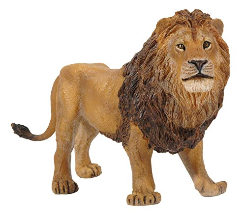 Papo Standing Male Lion Toy Figure - 1