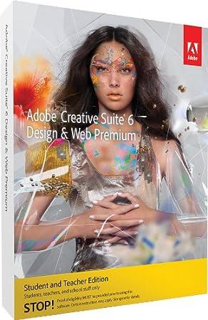 Adobe Creative Suite 6 Design & Web Premium Student and Teacher*